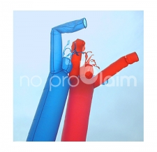 AirDancer/Lufttänzer blau und rot