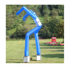 Sky Dancer 2-beinig blau ebm