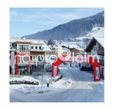 Startbogen Zielbogen - Bogen Classic Ski Dome Intersport