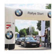 Torbogen eckig aufblasbar - Bogen Corner BMW