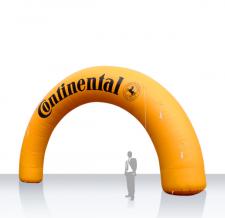Werbebogen rund aufblasbar - Bogen Round Continental
