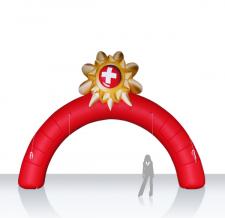 Bogen aufblasbar mit 3D Element - Bogen Round Schweiz
