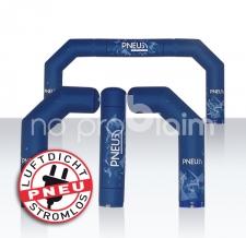 Luftdichter Bogen - flexible Module Halbbogen und Classic - Pneu Bogen