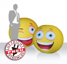 Riesenbälle - Eventbälle Smiley