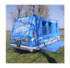 Hüpfburg Sonderform Kinderwelt Bus