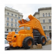 Riesenrutsche Sonderform Erzberg truck