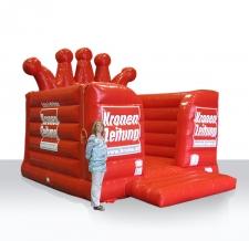 Aufblasbare Hüpfburg Sonderform - Krone