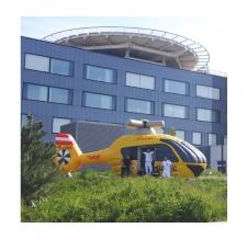 Hüpfburg Sonderform - ÖAMTC Hubschrauber