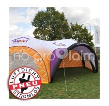 riesiges aufblasbares Zelt luftdicht - Pneu Zelt HEXA impact - Eventzelt, Werbezelt, Markzelt, Veranstaltungszelt