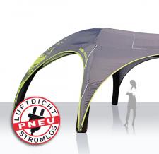 großes aufblasbares Werbezelt luftdicht - Pneu Zelt HEXA