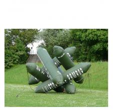 Luftdichtes Kunstobjekt - Borealis Peter Sandbichler - Pneumatischer Druckzylinder - 500 cm - Bildrechte Staudinger-Stelzhammer