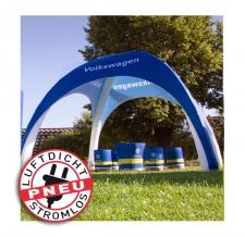 aufblasbarer Event Shelter stromlos - Pneu Zelt LITE Volkswagen
