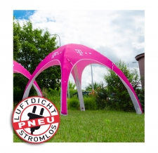 Luftzelt stromlos Messezelt/Eventzelt/Pavillon  - Pneu Zelt LITE T