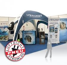 Messe- & Veranstaltungszelt - luftdichtes Pneu Zelt unterwasser