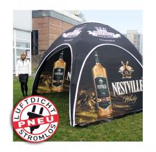 Pavillone / Werbezelt - aufblasbar, stromlos - Pneu Zelt LITE nestville