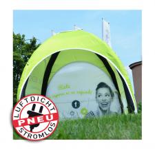 air shelter / Messezelt - selbstaufblasbares Zelt - Pneu Zelt LITE
