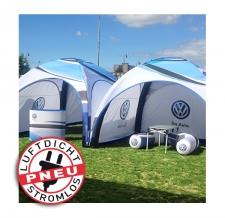 aufblasbares Promotionzelt - Pneu Zelt LITE VW