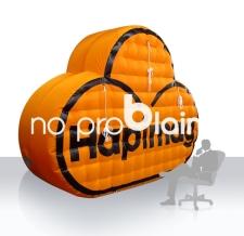 Logo aufblasbar - Hapimag