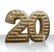 aufblasbare Zahl 20