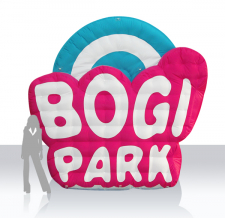 Aufblasbares Logo - Bogi Park