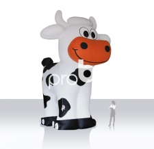 riesige aufblasbare Kuh - Maskottchen EGV Kuh
