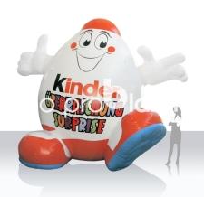 Aufblasbare Figur - Kinderino Überraschungs-Ei