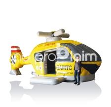 Miete Fun Game Hüpfburg ÖAMTC Hubschrauber