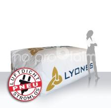 Werbemittel für Einsatz am Wasser - Boje Quader Lyoness