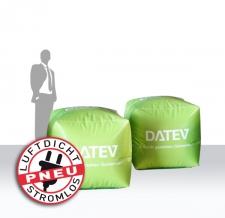 Werbeboje DATEV Würfel