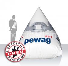 schwimmende Werbung - Boje Pyramide Pewag