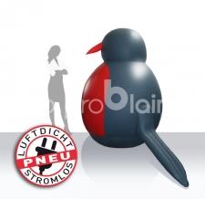 Aufblasbare Werbung am Wasser - Boje Sonderform Pinguin