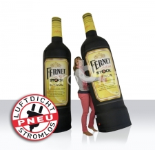 riesige aufblasbare Flaschen - Pneu Flaschen Fernet