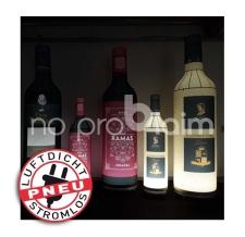 riesige aufblasbare Weinflaschen - Pneu Flaschen