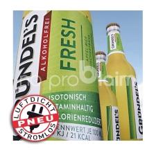aufblasbare (luftdichte) Riesenflaschen - Pneu Flasche Gündel's