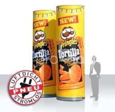 aufblasbare Produktnachbildung - luftdicht - Pneu Produktnachbildung Pringles