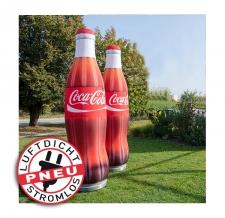 aufblasbarer stromloser Flaschen - Pneu Flaschen Coca Cola