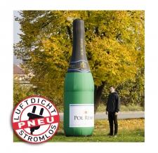 riesige aufblasbare (luftdichte) Sektlaschen - Pneu Flaschen Pol Remy