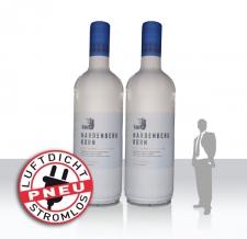 riesige aufblasbare Flaschen - Pneu Flaschen Hardenberg Korn
