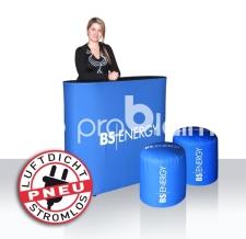 aufblasbarer Hocker und Theke luftdicht - Pneu Hocker BS Energy