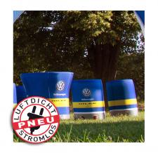 Hocker Werbung stromlos - Pneu Hocker VW