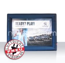 aufblasbare luftdichte Messewand oder Rückwand - Pneu Rahmen Peugeot