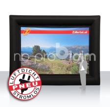 Werbewand luftdicht - Pneu Rahmen Zillertal Tourismus