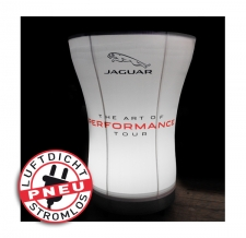 Messetisch beleuchtet - Pneu Tisch Jaguar beleuchtet