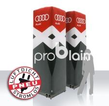 luftdichter aufblasbarer PNEU Tower - Audi
