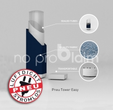 luftdichte aufblasbare eckige Säule _ Pneu Tower Easy no problaim