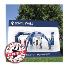 aufblasbare Messerückwand - Pneu Wand Axion Wall