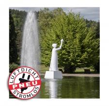 """aufblasbare luftdichte Sonderform """"Statue der Demokratie"""""""