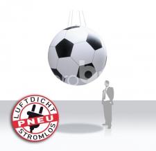 Aufblasbarer Riesen-Fußball luftdicht - Pneu Sonderform Fussball