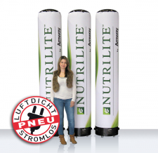 Werbesäulen Pneu - Nutrilite