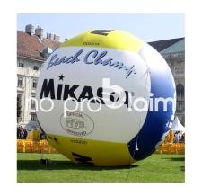 Aufblasbare Produktnachbildung Riesenball - Mikasa Volleyball